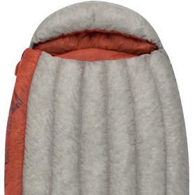 Sea to Summit Flame FmI Sac de couchage Long Femme, light grey/paprika